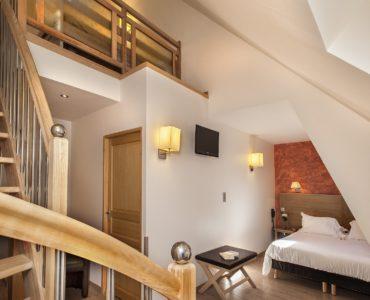 hôtel lozère - chambre familliale - hôtel les 2 rives
