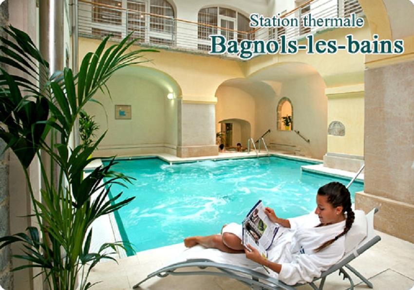 station_bagnols_les_bains - Station thermale Lozère -Hôtel Les 2 Rives