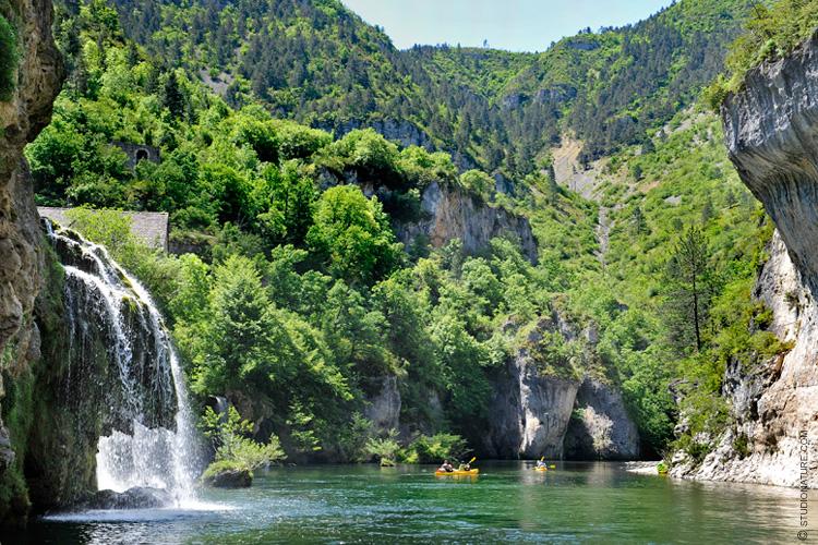 Cascade Saint Chély du tarn