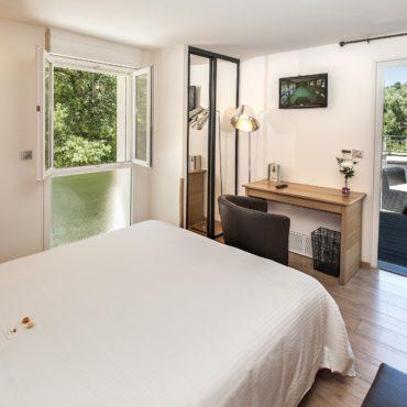 Chambre d'hôtel Lozère : Hôtel Les 2 Rives