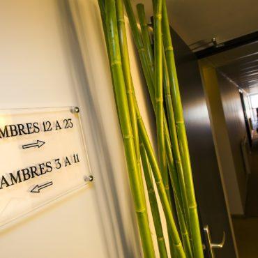 hotel les 2 rives chambre