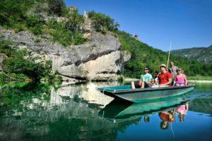 bateliers de la malène tourisme lozere