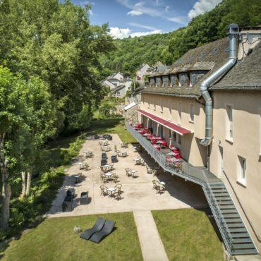 hotel les 2 rives lozere aveyron