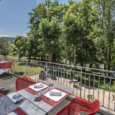 restaurant terrasse lozere la canourgue