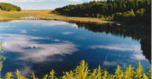 lac de bonnecombe lozere tourisme